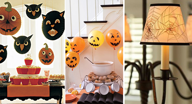 Ideas para decorar la casa en halloween con poco dinero - Ideas para fiesta halloween ...